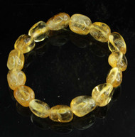 Citrine Pebble Bracelet 12