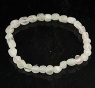 Rose Quartz Pebble Bracelet 13