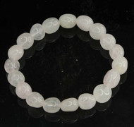 Rose Quartz Pebble Bracelet 14