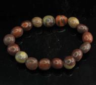 Zebra Stone Pebble Bracelet 2