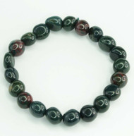 Bloodstone Pebble Bracelet 2