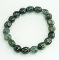 Moss Agate Pebble Bracelet 2