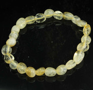 Citrine Pebble Bracelet 13