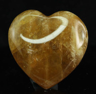 Honey Calcite Heart 9