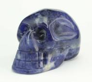 Sodalite Skull 4