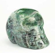 Chrysocolla Skull 12