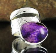Sugilite Double Ring 17