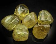 AAA+ Rare Golden Apatite Tumbled Stone