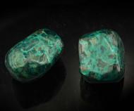 Rare Dioptase Tumbled Stone