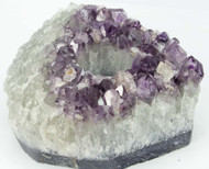 Amethyst Cluster Tealight Candle Holder 6