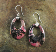 Rhodonite Earrings 10