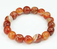 Carnelian Pebble Bracelet 15