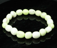 Lemon Chrysoprase Pebble Bracelet 2