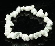 White Howlite Chip Bracelet 2