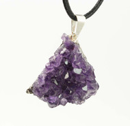 Amethyst Cluster Pendant 1