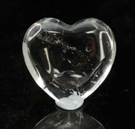 Clear Quartz Heart 8