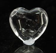 Clear Quartz Heart 8