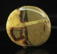 Septarian Nodule Flat Stone 2
