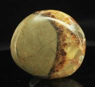 Septarian Nodule Flat Stone 3