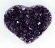 AAA+ Amethyst Cluster Heart 4
