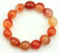 Carnelian Pebble Bracelet 4