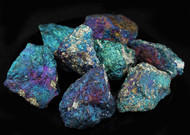 Peacock Ore Rough Chalcopyrite 1