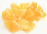 Orange Calcite Rough Small