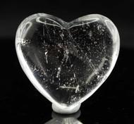 Clear Quartz Heart 5