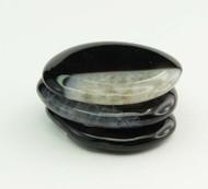 Black Agate Flat Stone 1