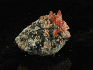Rhodochrosite Crystals on Matrix 6