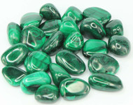 Malachite Tumbled Stone Sm
