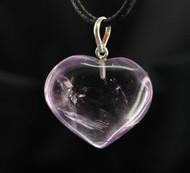 Amethyst Heart Pendant 33