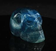 Blue Fluorite Skull 6