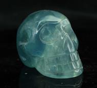 Blue Fluorite Skull 8