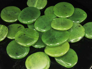 Nephrite Jade Flat Stone Small