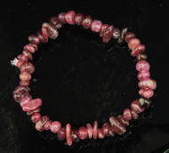 Pink Tourmaline Chip Bracelet
