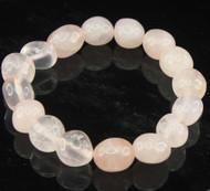 Rose Quartz Pebble Bracelet 9