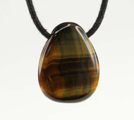 Tiger Eye Tumbled Pendant 2