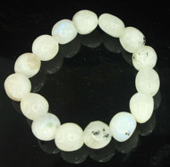 Rainbow Moonstone Pebble Bracelet 7