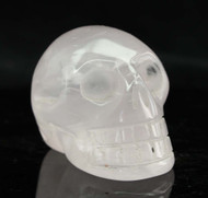 Gemmy Rose Quartz Skull 5