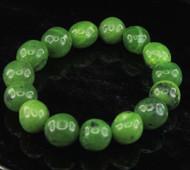 Nephrite Jade Pebble Bracelet 3