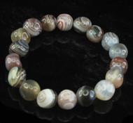 Botswana Agate Pebble Bracelet 1