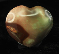 Polychrome Jasper Heart 2