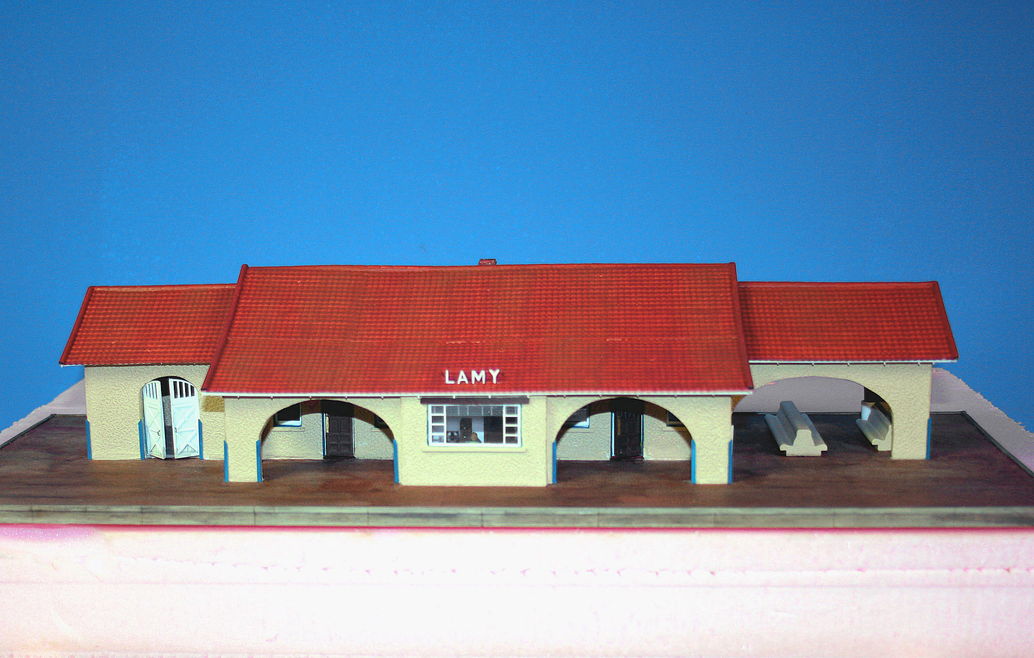 Lamy Depot NM HO scale model