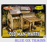 Bar Mills 555 HO Scale Old Man Harts Laser Cut Kit