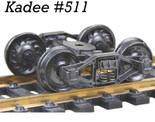 KADEE 511 HO Scale Bettendorf T-Section Trucks