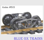 KADEE 515 HO Scale Vulcan Double Truss Trucks