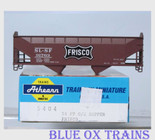 Athearn 5404 HO Scale Frisco 34' O/S Hopper SLSF 91763 Kit