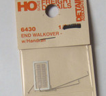 Detail Associates 6430 End Walkover with Handrail HO Scale