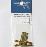 Railflyer 6201 HO Scale Detail Part EMD GP Split Air Tanks